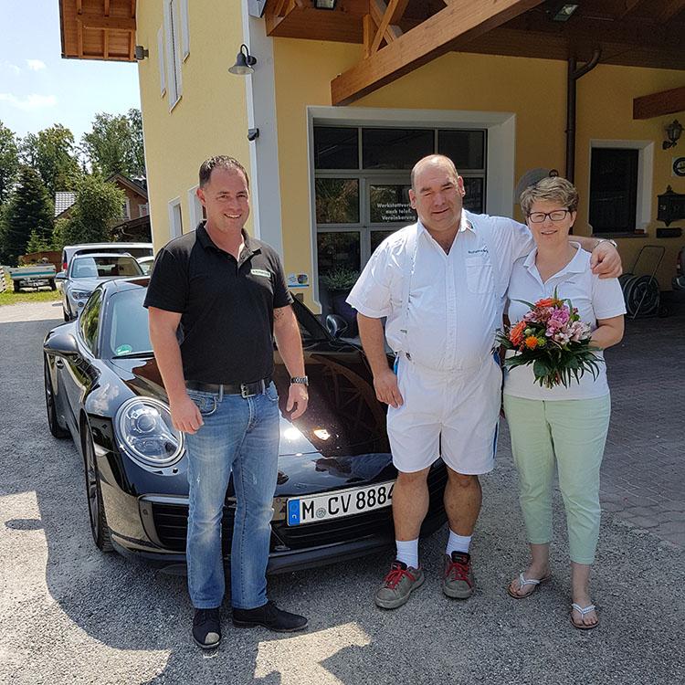 Gewinner Porsche Aktion