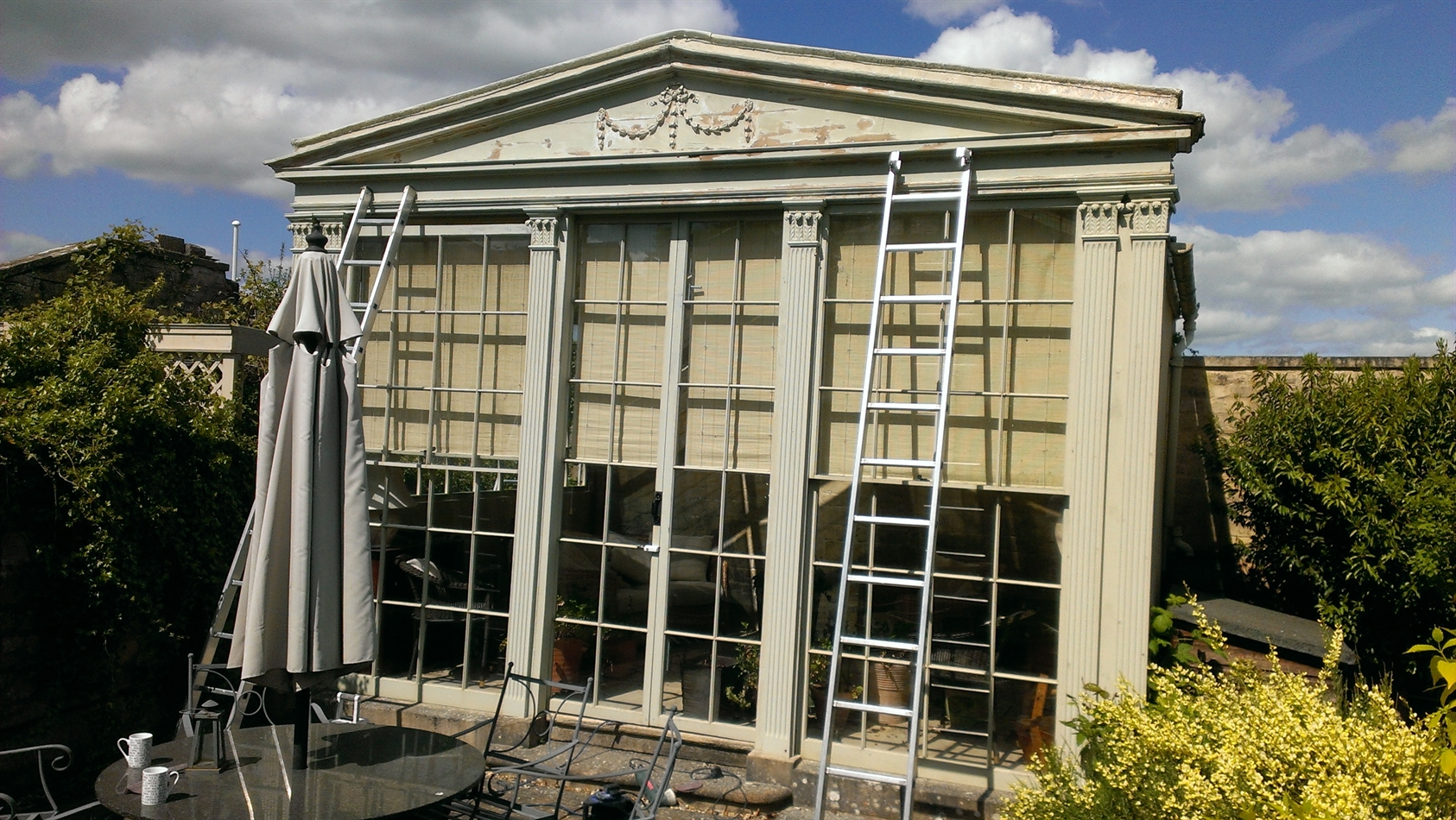 Porch and Orangery repairs